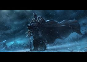 Arthas Menethil, the Lich King by ChaoyuanXu