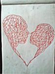 2013 drawing - heart of mine by nielopena