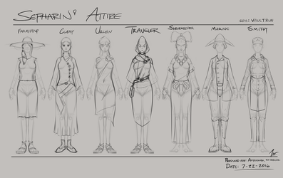 Sepharin Attire Concepts by Firgof