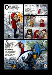 Red Riding Hood Remix Page 1 by Scoogle