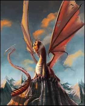 Smaug The Magnificent by AndyFairhurst