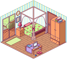 My Little Room by 04ghosts