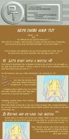 Chibi Hair Tutorial -T- by photoshop-tutorials