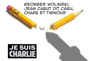 Je suis charlie illustration by Jules171