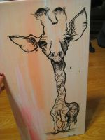 untitled giraffe by aestheticapathy