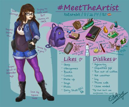 Meet The Artist - XxEstelxX by XxEstelxX
