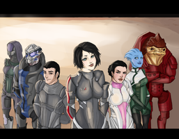 mass effect by ladycrux