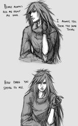 Madara - about that hair by Blishhed