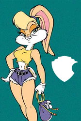 Lola Bunny iPhone wallpaper by BobGuthrie