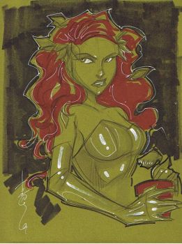 Poison Ivy by Hodges-Art