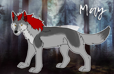 May - feral version by Nymerie