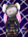 Rabbit girl from the Moon by Moon--Rabbit