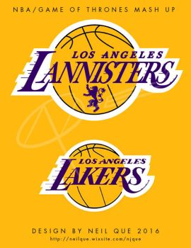 LA Lannisters/Lakers mash up by DAA-TRUTH