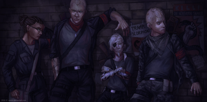 The Northern Snakes. by vexnir