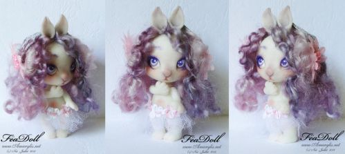 FeaDoll little Rabbit by Nailyce