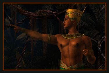 Egyptian Prince I by Rickbw1