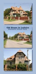 ExclStock_OldHouseInLednice by Gwathiell