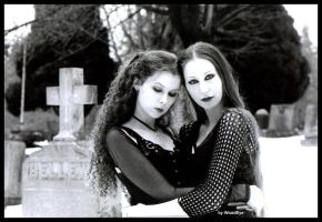 Cemetary Nymphs by woodeye