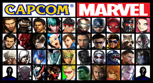 Marvel vs. Capcom Infinite (possible roster) by ARCGaming91