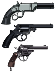 More Western Weapons by ProdigyDuck