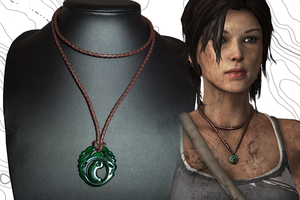Tomb Raider Premium Quality Pendant/Necklace Repli by Joliennd