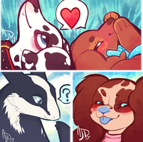 [COM] Friendly Batch of Icons by CloverCoin