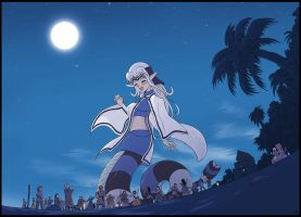 Dance under the moonlight by Karbo
