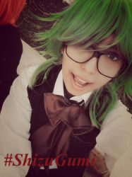 Megpoid Gumi Cosplay by saraemo
