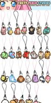2011 Acrylic Charms by MoogleGurl