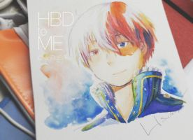 HBD to ME with Shouto by NlinRUSH