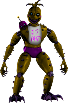 Monster Toy Chica by Fnaf-fan201