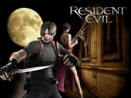 Resident Evil 4 - Moon WP by dirtycar74