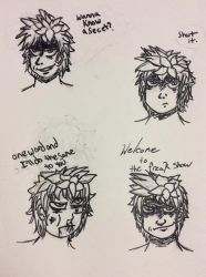 Chester Hayes Sketch Dump by Grimsisters