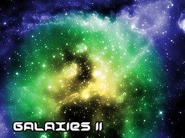 Galaxies II by Sunira
