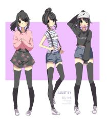 Yandere-chan Outfits by ku-ini