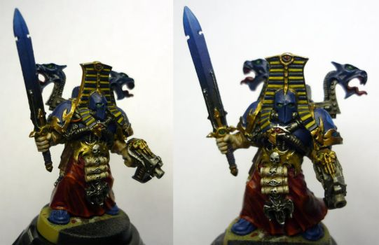 Thousand Sons Sorcerer by Steel-Serpent