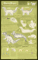 Glaurex Dragon Species Sheet by Boltonartist