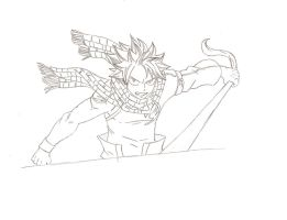 another natsu by FairyTail0079