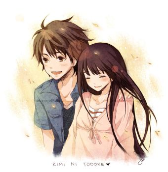 Kimi Ni Todoke: Sunkissed by cartoongirl7