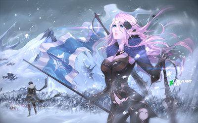 [T.R] - Winter loading screen --- Xethai by dNiseb