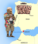 22 - Monkey Tourism of Europe by Ghostexorcist