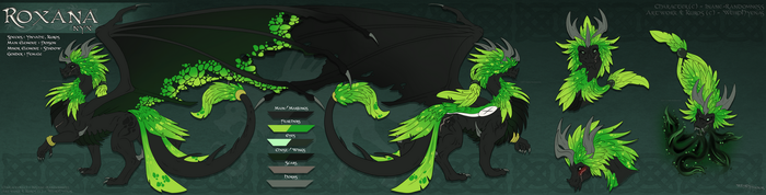 Kuros Egg Adopt : Roxana the Yinvaht by WeirdHyenas