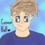 Connor ball fanart by Bubblegumartt