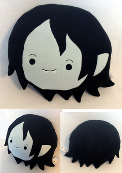:AT: Child Marceline Pillow by MiharutheKunoichi
