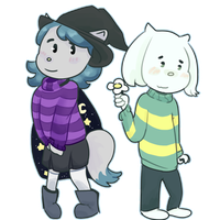 Cercei x Asriel (req for Sweetheartmelodies78) by Tremendous-By-Design