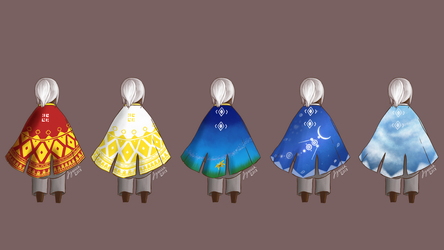 Tribute Cloaks by aynessa