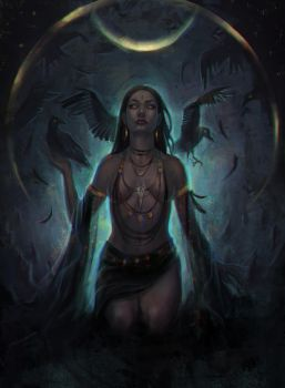 Mother of ravens by shenrill