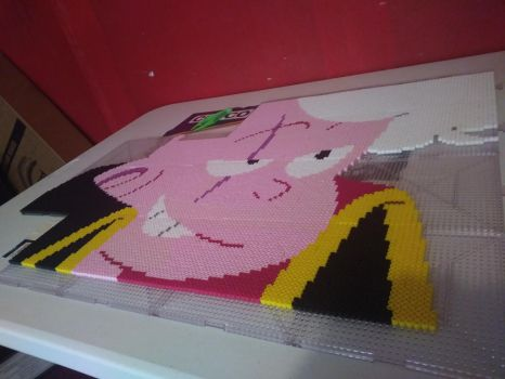 Pink Lars Bead Art by Gr8Beads