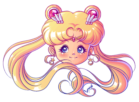 Sailor Moon Pixel by Arumi-Kun