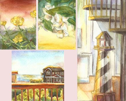 Watercolors From Life by springartist